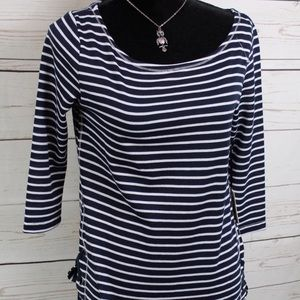 Kate Park NWT'S nautical style shirt size S